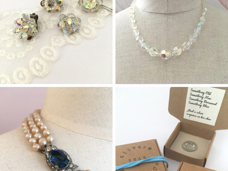 Bruidsvintage, vintage accessoires en cadeautjes voor de bruid