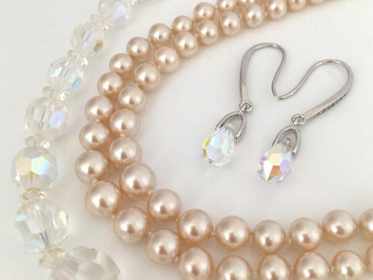 Aurora Borealis sieraden voor de bruid