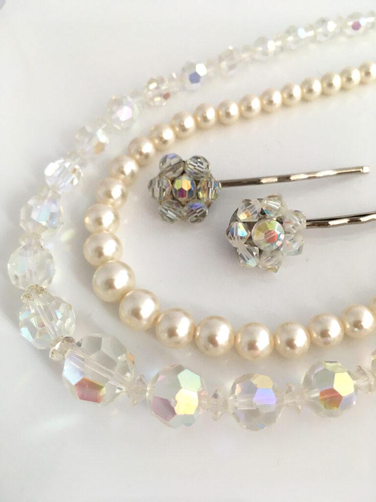 bruidsvintage sieraden voor de bruid