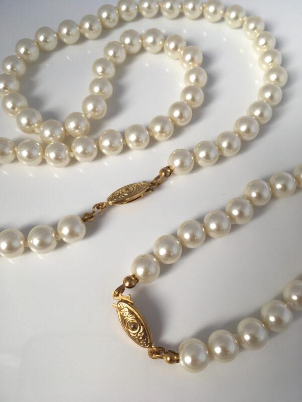 Vintage ketting en armband voor de bruid
