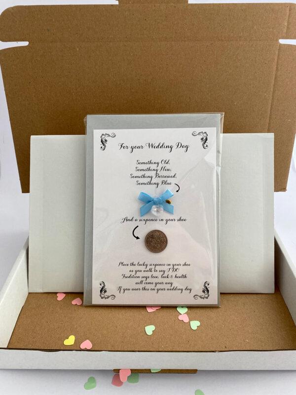 brievenbus kado voor de bruid