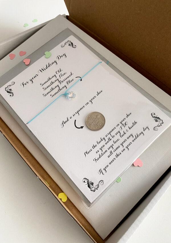 brievenbus cadeautje voor de bruid