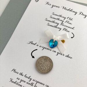 brievenbus cadeau voor de bruid