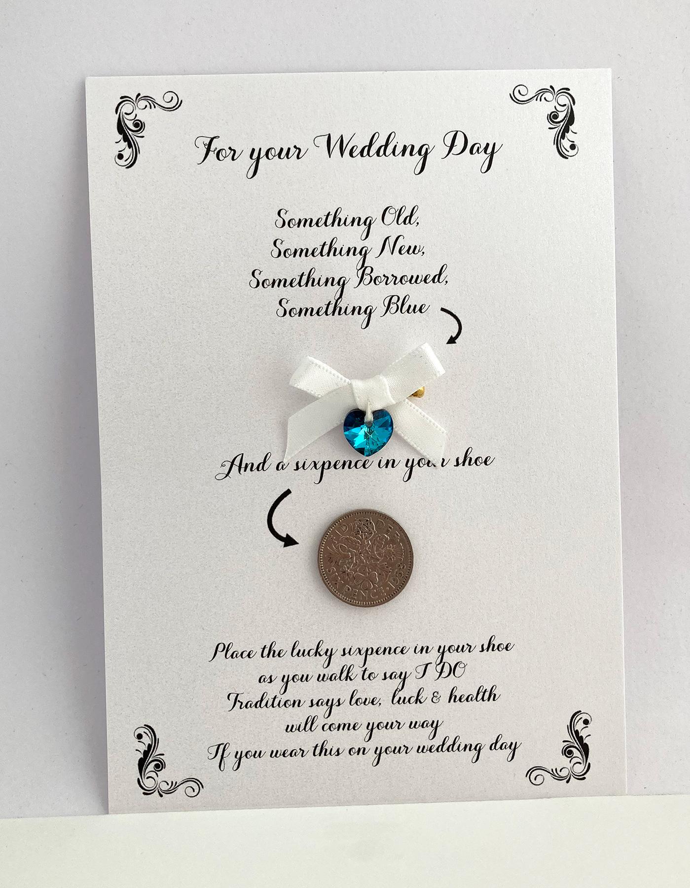 brievenbuscadeau voor het bruidspaar.