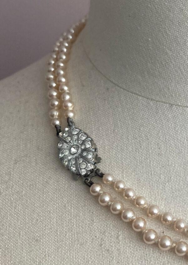 vintage Art Deco pearl necklace