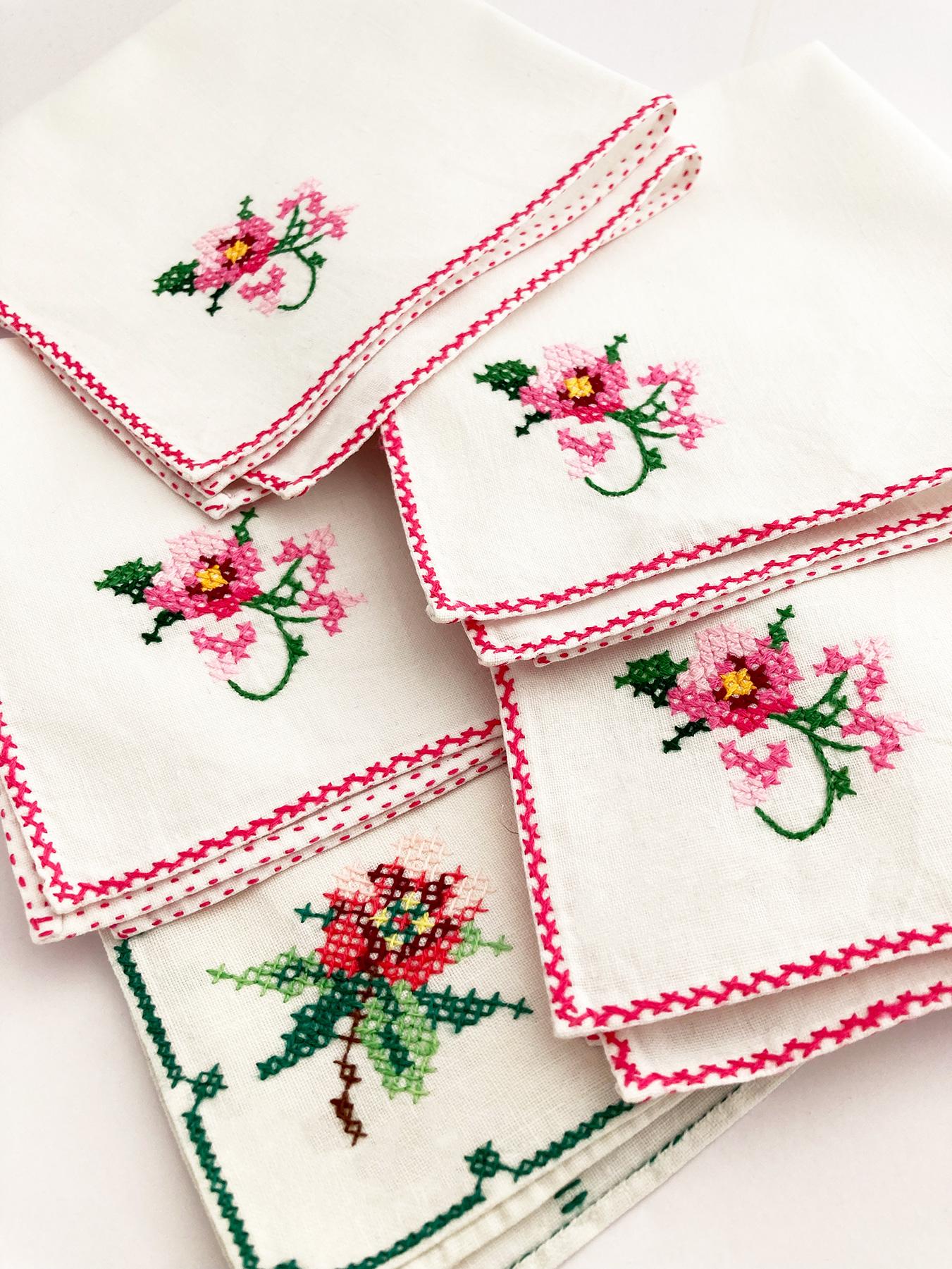 handgemaakt zakdoekjes voor de bruid