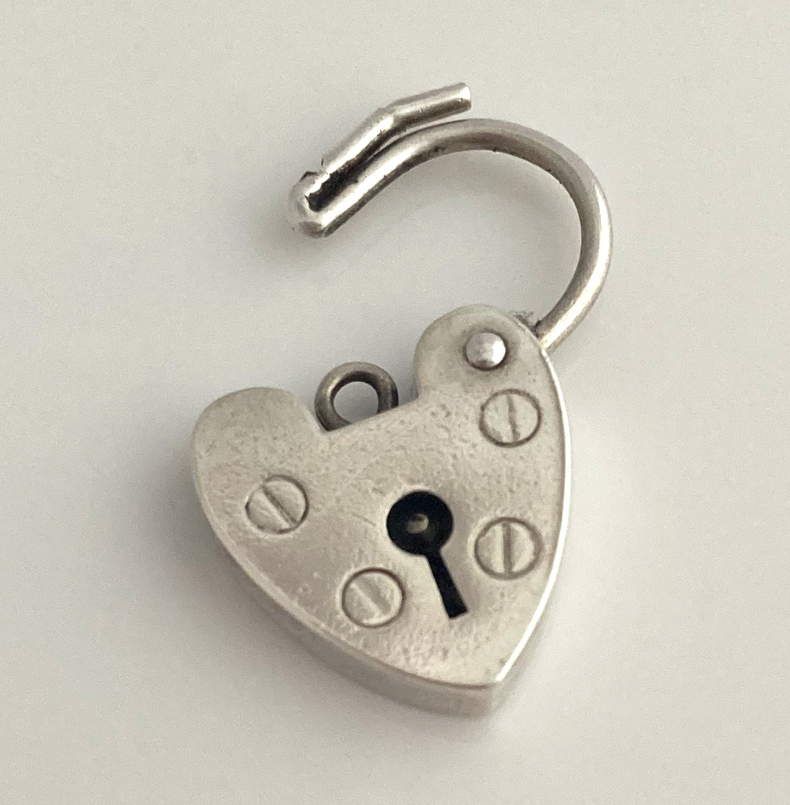 vintage hart slotje #1